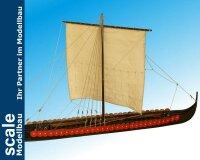 Wikinger Langschiff 1:35 Baukasten