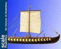 Gokstad  Wikingerschiff 7 Jh. 1:35 Baukasten