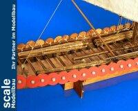 Wikinger Langschiff 1:72 Baukasten