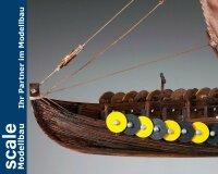 Gokstad  Wikingerschiff 1:72 Baukasten