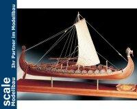 Wikingerschiff Oseberg 1:50 Baukasten