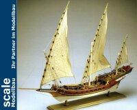 Sciabecco Piratenschiff 1753 1:60 Baukasten