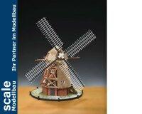 Holländische Windmühle 1:30 Bauk.
