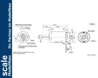 Krick MAX Power 400 Elektromotor #42116