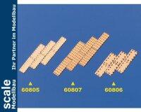 Krick Kupferplatten 5x19mm 1:64 (100) #60807