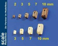 Krick Einfach – Blöcke 3mm Buchsbaum (VE = 10 Stk.) # 60953