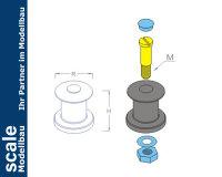 Winsch funktionsfähig Ø 10 mm  (VE2)