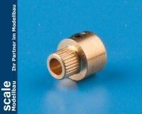 Anschlussbuchse für Wellen-Ø 4 mm