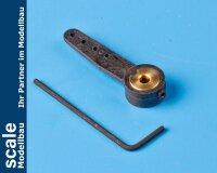 Krick Steuerarm, Nylon, Bohrung 3 mm #70240