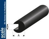 Kantenschutz Ø6x1,5 mm L=2 m Gummiprofil