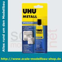 UHU Spezialkleber HART KUNSTSTOFF, 30 g in der Tube