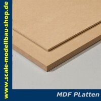 Scale MDF - Platte Stärke: 1,0 mm 1000x250mm / VE 1...