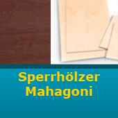 Sperrholz Mahagoni 600 x 300 mm Stärke 4,0 mm...