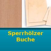Sperrholz Buche 300 x 300 mm Stärke 0,8 mm