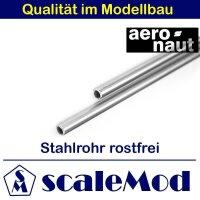 Aeronaut (7739/85) Stahlrohr rostfrei 1000 mm / 5,0 mm