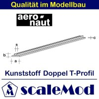 Aeronaut (7714/61) Messing Doppel-T 330mm /...