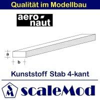 Aeronaut (7722/23) Kunststoff (ASA) rechteck Stab  VE...