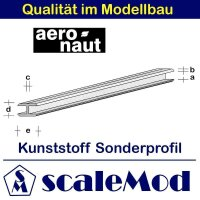 Aeronaut (7720/45) Kunststoff (ASA) Profil  VE 5 Stk 330...