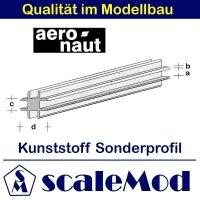 Aeronaut (7720/25) Kunststoff (ASA) Profil  VE 5 Stk 330...