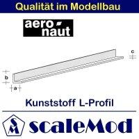 Aeronaut (7723/90) Kunststoff (ASA) L-Profil  VE 5 Stk...