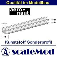 Aeronaut (7720/33) Kunststoff (ASA) Profil  VE 5 Stk 330...