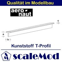 Aeronaut (7724/21) Kunststoff (ASA) T-Profil  VE 5 Stk...