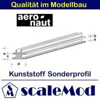 Aeronaut (7720/11) Kunststoff (ASA) Profil  VE 5 Stk 330...