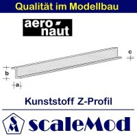 Aeronaut (7729/90) Kunststoff (ASA) Z-Profil  VE 1 Stk...