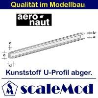 Aeronaut (7725/01) Kunststoff (ASA) abger, U-Profil  VE 1...