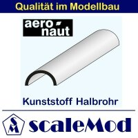 Aeronaut (7717/23) Kunststoff (ASA) Halbrohre 330mm...