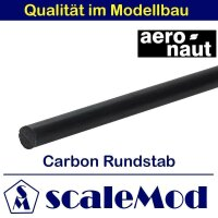 Aeronaut (7751/65) Carbon Rundstäbe 1000 mm 10,0 mm