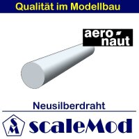 Aeronaut (7731/67) Neusilberdraht 1000mm Ø 2,0 mm