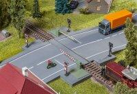 Bahnschranke mit Antriebsteil