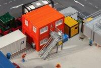 4 Baucontainer, orange