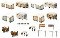 Camping-Wohnwagen-Set