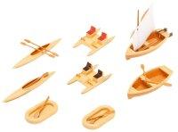 Boote und Tretboote