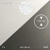 Strukturplatte geputzte Wand 1:100 weiß 290 x 390 x...
